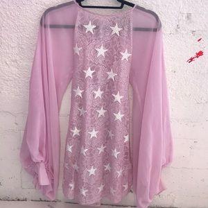 Wildfox couture white label stars Dress XS
